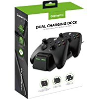 GameWill Dual Charging Dock with 2 x Rechargeable Battery Packs [EXTRA POWER 1200 mAh] for Xbox Series X and Series S…