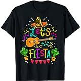 Cinco De Mayo Mexican Guitar Cactus T-Shirt