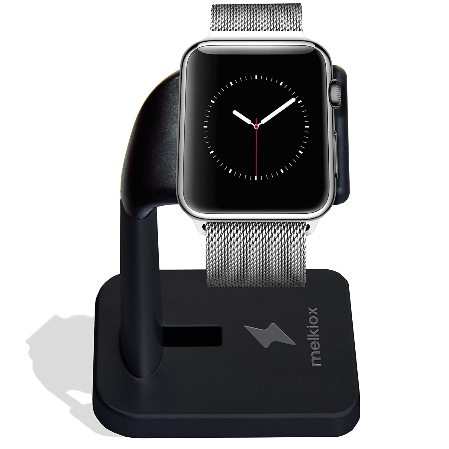 Melkiox Apple Watch Stand- Compatible with iWatch Nightstand Mode Charging, Smartwatch Holder for Series 4 / Series 3 / Series 2 / Series 1 44mm, ...