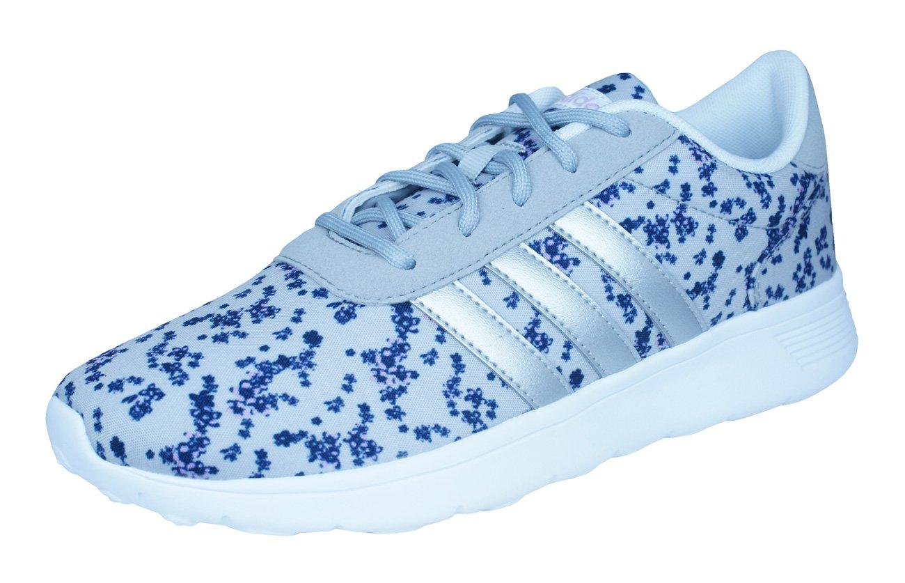 adidas Damen Lite Racer W Fitnessschuhe, Rosa, EU  44 EU|Grau / Violett (Onicla / Plamat / Orqcla)