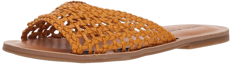 Lucky Brand Women's Adolela Slide Sandal B077G6BZ63 7.5 M US|Saffron