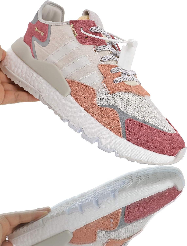 Nite Jogger 2019 Originals Boost Retro Leisure Wild Running Shoes Rice Gray Orange Rose Powder