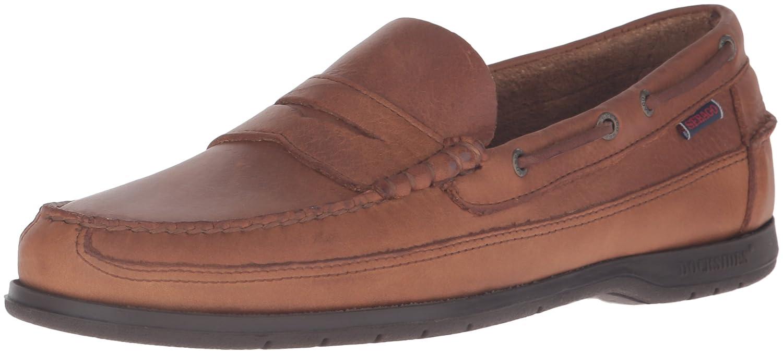 Sebago SLOOP Herren Slipper  7 D(M) US Tan Tumbled Leather