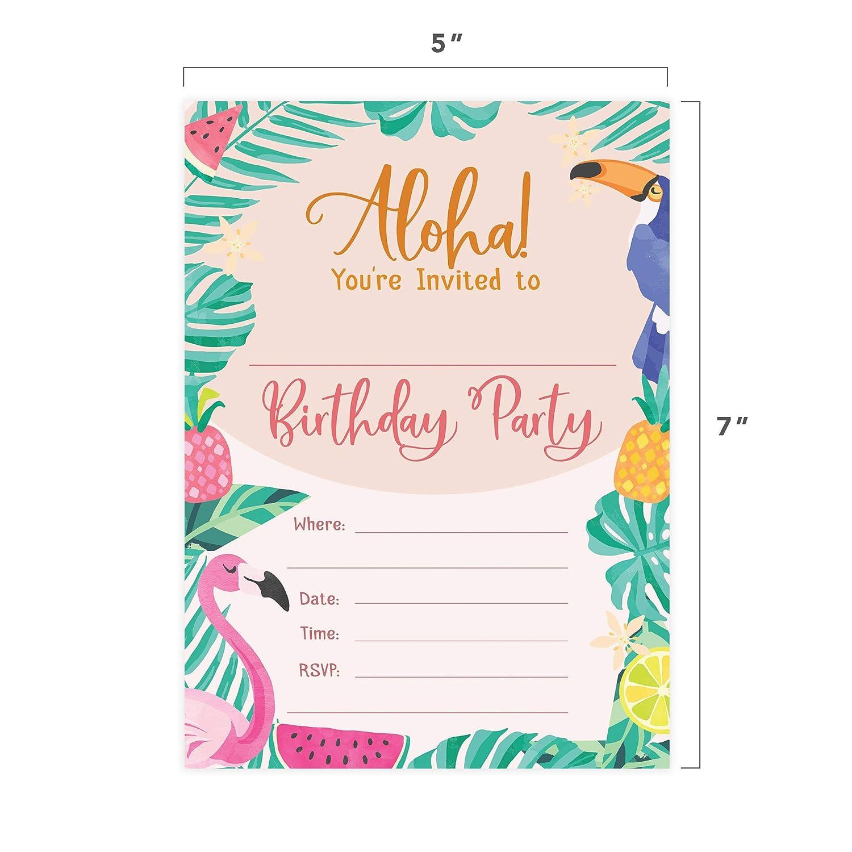Aloha Hawaiana HI Maui Tropical Style 2 tarjetas de ...