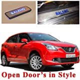 Ample Wings Harsheen Sales Premium Quality Car Door LED Sill Scuff Plate Foot Steps For Baleno