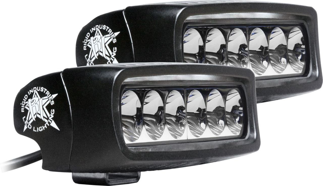 Amazon.com Rigid Industries 91531 SRQ2 White Driving LED Light (Set of 2) Automotive  sc 1 st  Amazon.com : rigid lighting - azcodes.com