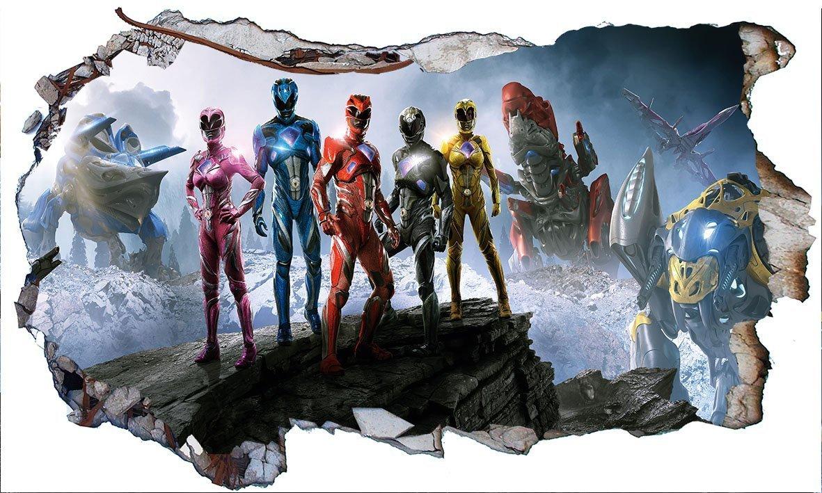 Power Rangers Ninja Steel V405 - Adhesivo Decorativo para ...