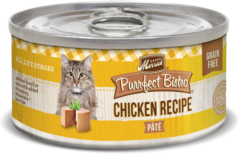 Merrick Purrfect Bistro Grain Free Canned Wet Cat Food