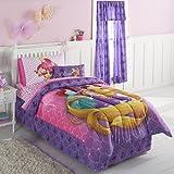 Disney Princess Belle, Ariel & Rapunzel Queen Comforter & Sheets (5 Piece Bed In A Bag) + HOMEMADE WAX MELT