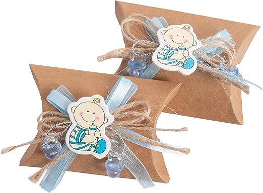 Junge Cojín Caja, regalos para invitados, 24 unidades de papel de ...
