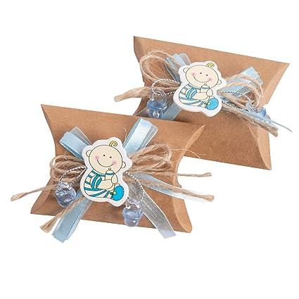 Junge Cojín Caja, regalos para invitados, 24 unidades de ...