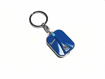 Llavero escudo Vespa a LED azul: Amazon.es: Juguetes y juegos