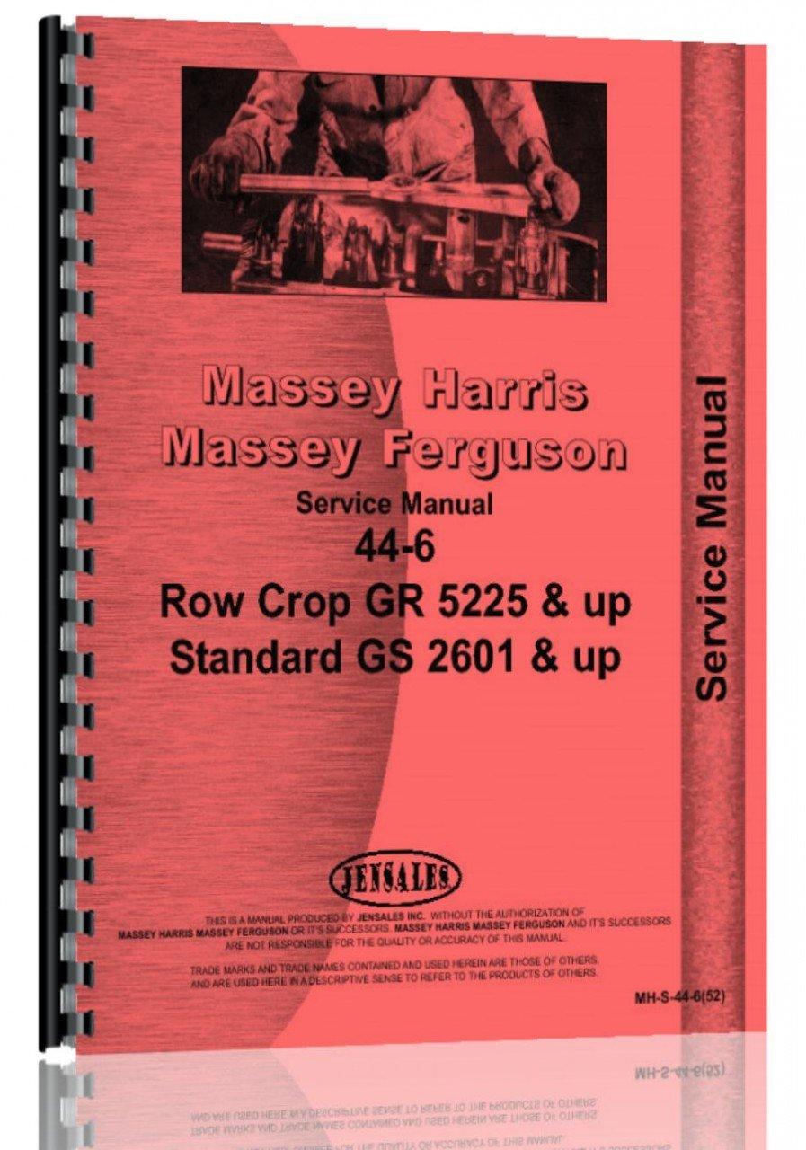 Massey Harris 44 Tractor Service Manual (1952): Massey Harris:  6301147735799: Amazon.com: Books