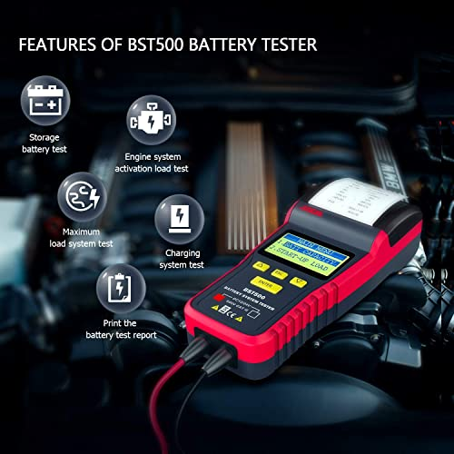 Ancel BST500 is built for average car owners who want to find out the status of their car battery.