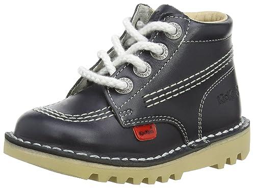 5cf1d376e Kickers - Botas para niña azul azul  Amazon.es  Zapatos y complementos