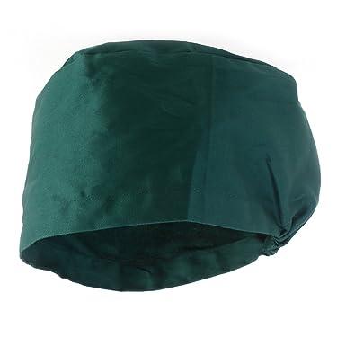 Tinksky Unisex Surgical Scrub Cap Round Bouffant Doctor Cap Nurse Hats  (Green)  Amazon.co.uk  Clothing efbbf6583847