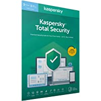 Kaspersky Total Security 2020 | 3 Devices | 1 Year | Antivirus, Secure VPN and Password Manager Included | PC/Mac…
