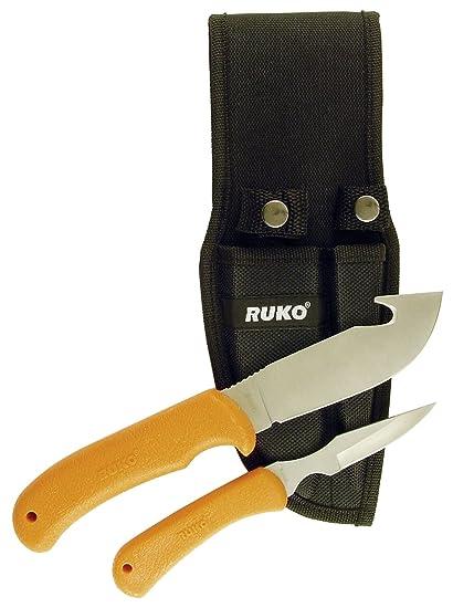 Amazon.com: Ruko ruk0059 cuchillo despellejador con mango ...