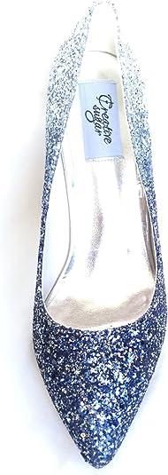 Bobury Zapatos de tac/ón Alto 3D Llavero Crystal Rhinestone Llavero de Metal Tel/éfono Bolso Colgante