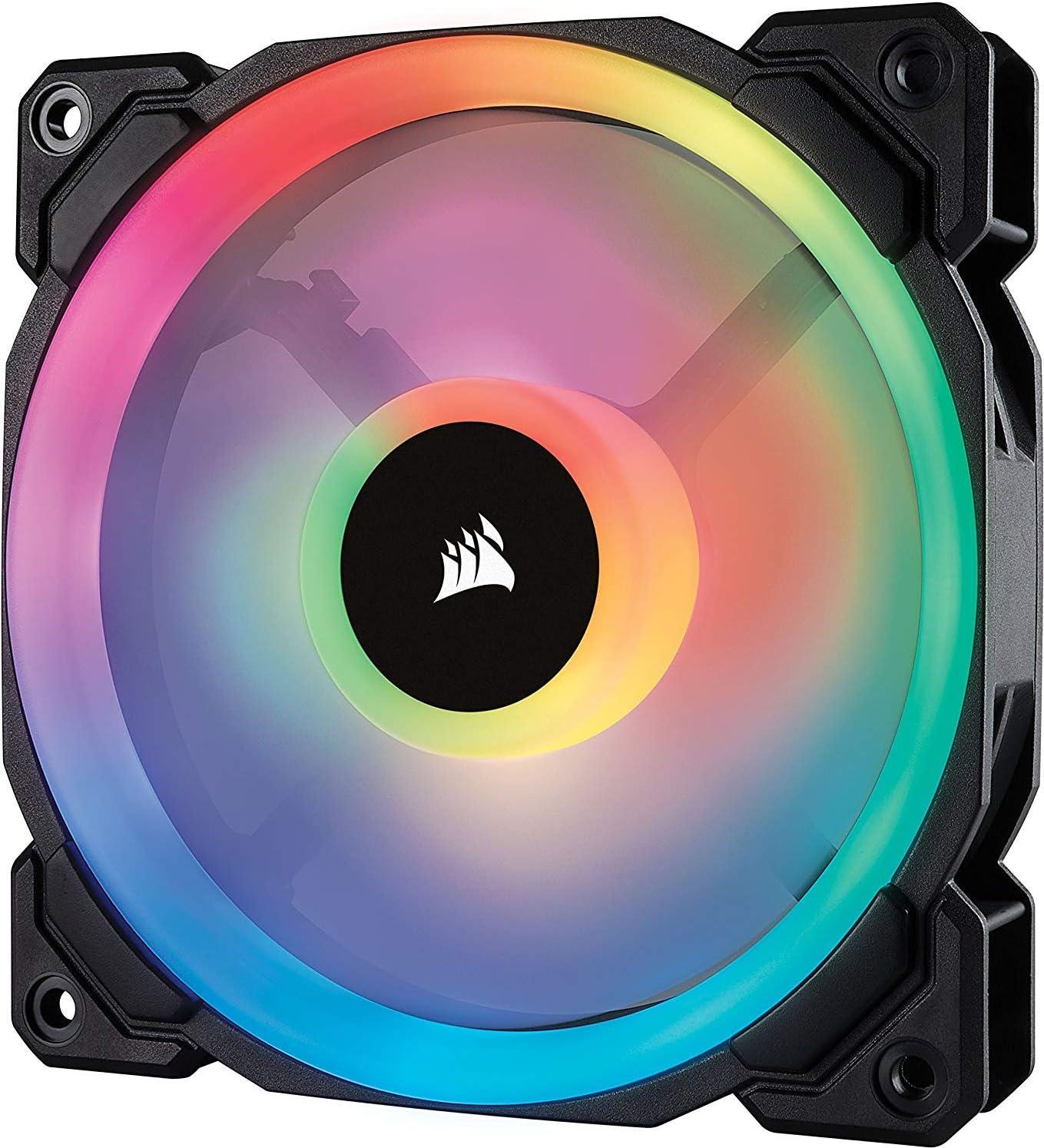 Corsair LL Series LL120 RGB 120mm Dual Light Loop RGB LED PWM Fan Single Pack $28.19  Coupon