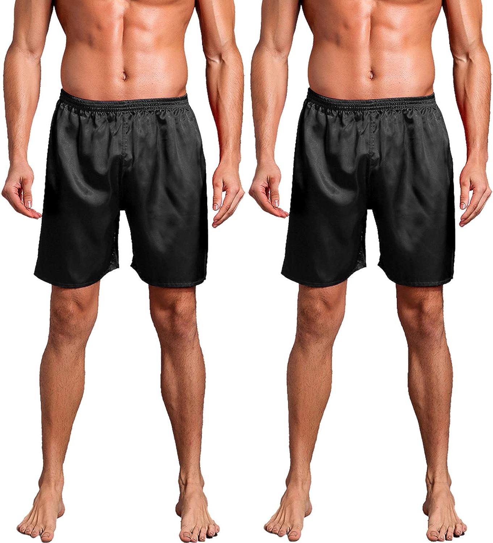 Men/'s Soft Cotton Boxer Short Sleepwear Pants Boxers Underwear S-L