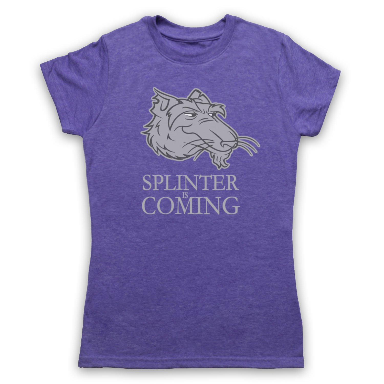 Inspired Apparel Inspirado Por Splinter is Coming Teenage ...