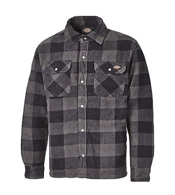 Dickies Portland SH5000, Thermo Shirt de différentes Couleurs Tailles,  Chemise Lumberjack Chemise du b8e75c3b5ca0