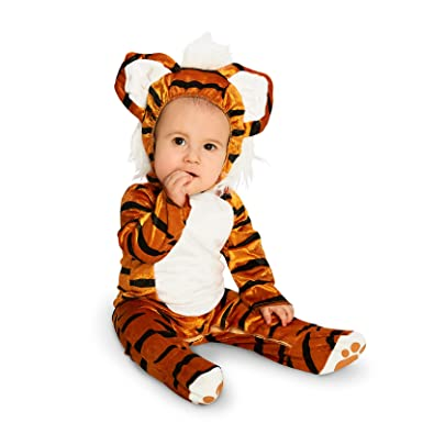f643aa6ec33 Amazon.com  Tiger Infant Dress Up Costume 6-12M  Clothing