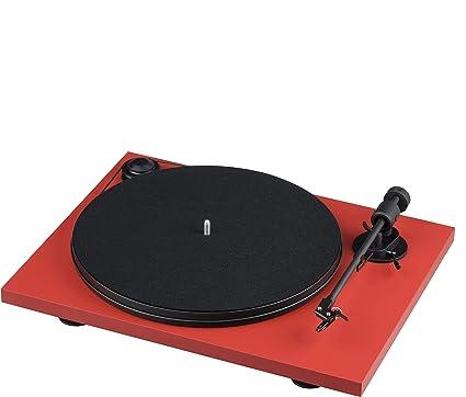 Pro-Ject Project Pri E R tocadisco Vinilo Rojo/Negro: Amazon ...