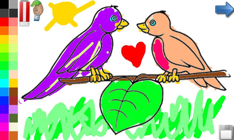 Libro para colorear para los niños: pájaros !: Amazon.es