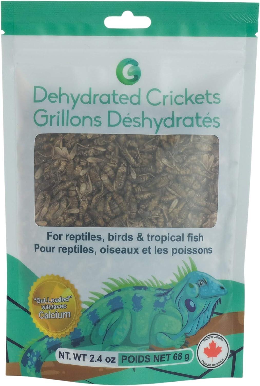 Grevio 2.4-Ounces (68 g)   Premium Dehydrated Crickets