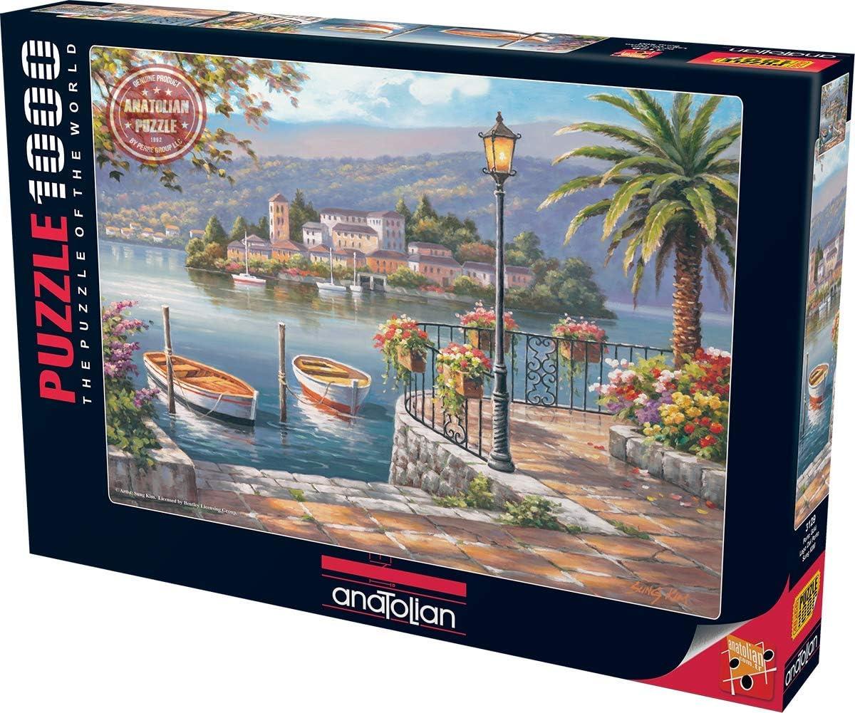 Seaside Port Jigsaw Puzzle, 1000-Piece