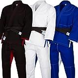 Athllete Jiu Jitsu GI/BJJ GI/Jiujitsu GI/Kimono Jiu Jitsu/Brazilian Jiu Jitsu GI with Preshrunk Fabric and Free White Belt