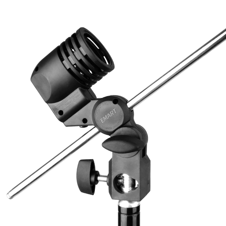 Emart Photography E26//E27 Lamp Holder with Light Stand Mount Umbrella Holder 2 Packs