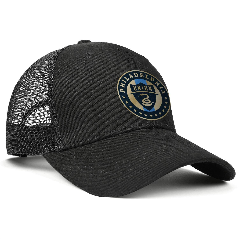 Fits Cowboy Hat Printed Trucker Cap Snapback Hat Football Hats LiJiCai Unisex Philadelphia-Funny-Union