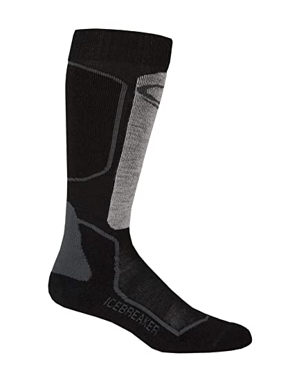 087caa9a0c7 Amazon.com : Icebreaker Merino Women's Ski Over The Calf Socks, Merino Wool  : Clothing