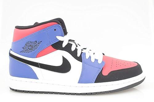 Nike Air Jordan 1 Mid, Zapatillas de Deporte para Hombre: Amazon.es: Zapatos y complementos