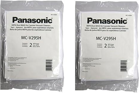 Amazon.com - Panasonic MC-V295H Type C-19 Canister HEPA Vacuum Bag, Pack of 4 -
