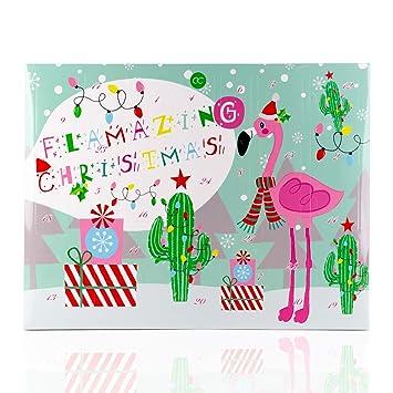 Beauty Weihnachtskalender.Accentra Beauty Adventskalender 2018 Flamingo Weihnachtskalender Für Frauen Und Mädchen Kosmetik Inhalt Body Lotion Badekugeln Seife Badesalz