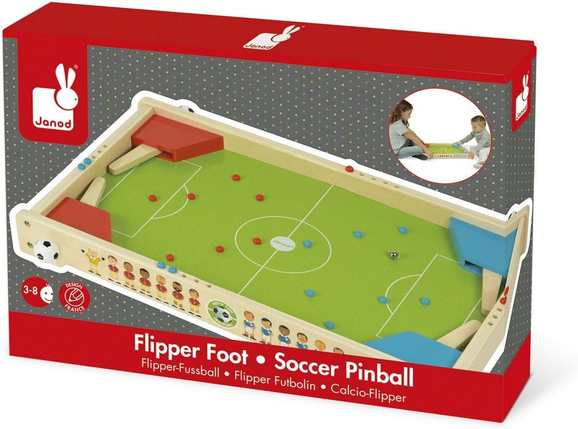 Janod Madera Juguete – Mesa Flipper Fútbol Champions Flipper ...