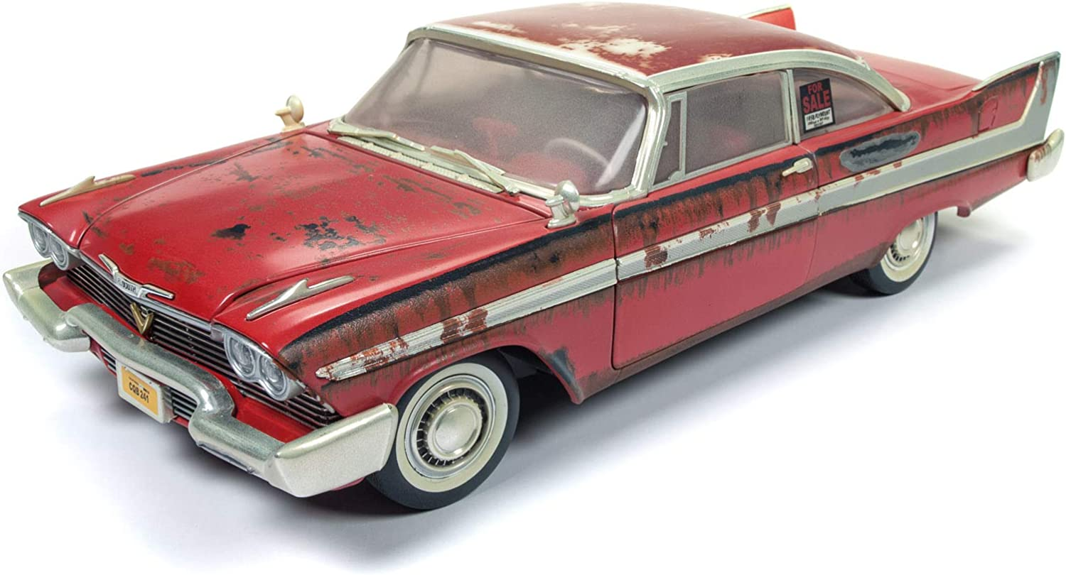 1958 Plymouth Fury Red Auto World Christine AWSS102 1//18 diecast model car