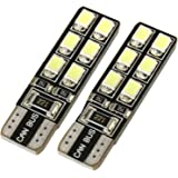 UltraVision 12 SMD 501   W5W   T10 Sidelight Bulbs , 12 V, 5 W, Pack of 2