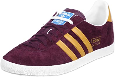 Image Unavailable. Image not available for. Colour  Adidas Gazelle OG Maroon  Suede Leather Womens ... 4b1f0819a