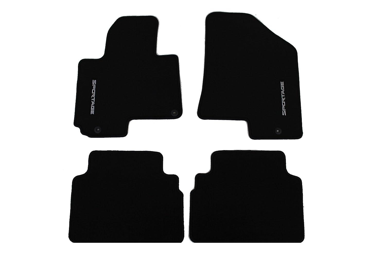 Rubber floor mats 2013 kia sportage - Amazon Com Genuine Kia Accessories 3wf14 Ac000wk Black Carpet Floor Mat For Kia Sportage Automotive