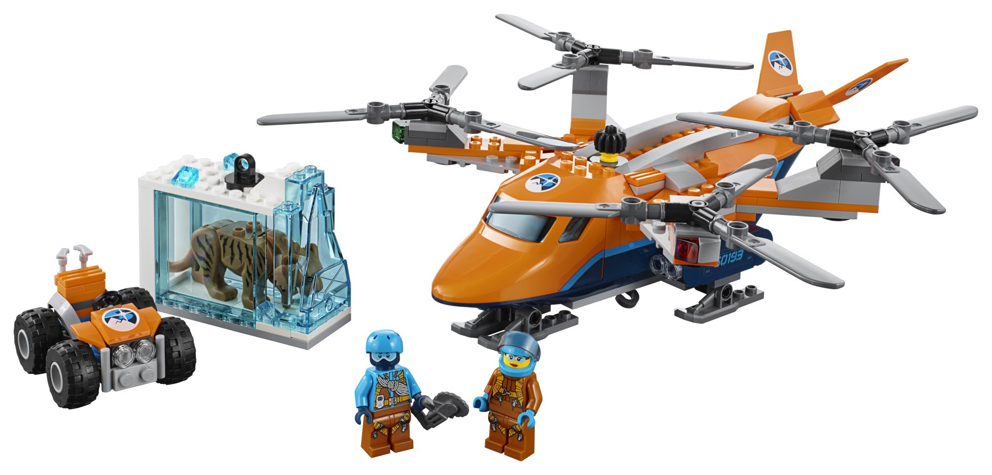 LEGO City Arctic Air Transport 60193 Building Kit (277 Piece) by LEGO (Image #2)