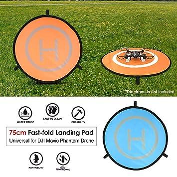 fghdfdhfdgjhh 75 cm Fast-Fold Landing Pad Universal FPV Drone ...