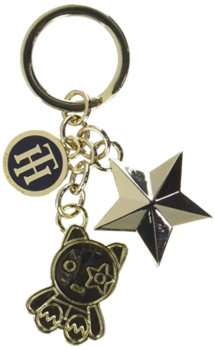 Tommy Hilfiger Mascot & Star Charm Keyfob, Llavero para ...