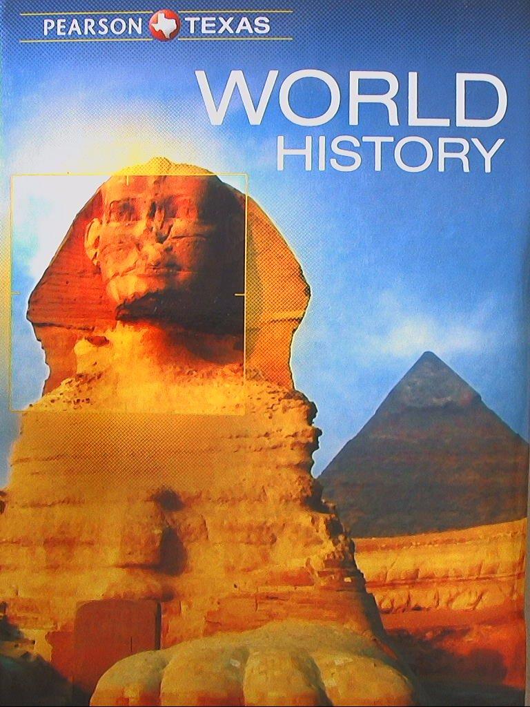 Pearson Texas, World History, 9780133307030, 0133307034: 9780133307030:  Amazon.com: Books