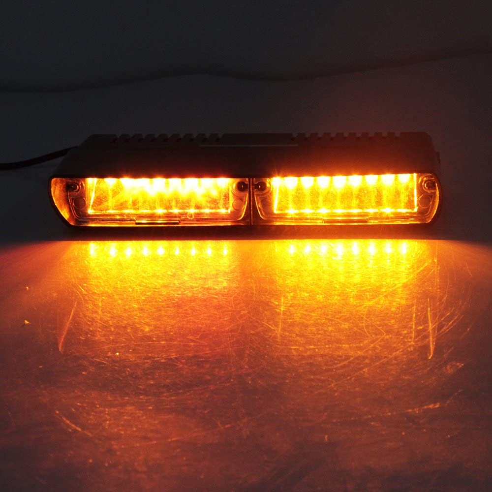 Ruick Viper Pare-Brise LED Stroboscope De Voiture Flash De Signal DUrgence Beacon Pompier Feu DAvertissement.