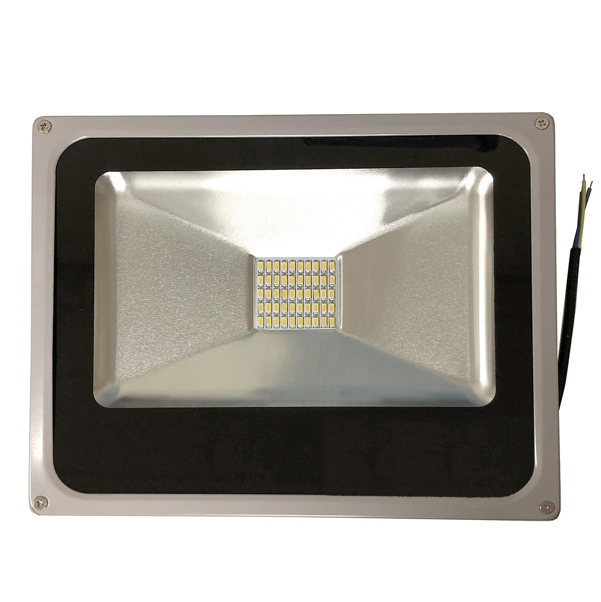 Isweet 50W LED Flood Light, 4800 Lumen, Warm White, 3000K, Waterproof,  IP65, 110 Volt (50 Watt) - - Amazon.com